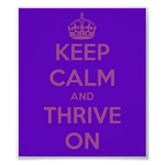 My poster for WEGO Health's Health Activist Writer's Month ~ Thrive On!