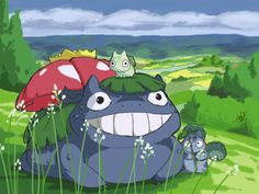 My Neighbor Venusaur (Pinning because that Bulbasaur is too cute)