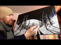 How to paint a moonlit forest - guest instructor Chad Chappelle