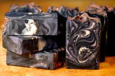 outer space spoon swirl soap