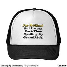 0227123f3ae Spoiling My Grandkids Trucker Hat