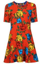 **Girl On Film Floral Dress by Jovonna