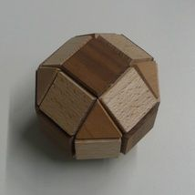 A look at one of the vertices of the small rhombicuboctahedron. Here you can see the faces meeting: triangel and three sqares, hence (3,4,4,4)