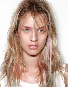 Le blond dip dye