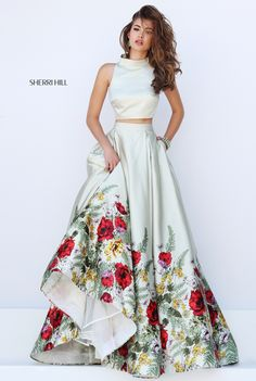 Sherri Hill 50270 wedding dress with poppies I want this for my wedding!
