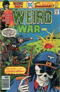 Weird War Tales 48 / Wow I actually have a copy of this very issue!
