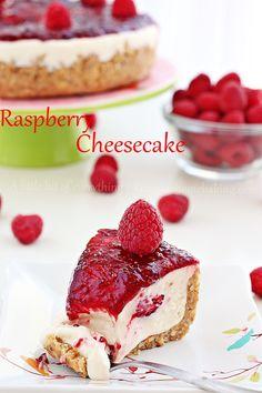 no bake raspberry cheesecake | roxanashomebaking.com