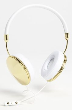 Frends 'Taylor' Headphones | Nordstrom. Ah, these are the correct gold iPhone5S colour...