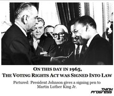 Celebrating 47 years of the Voting Rights Act http://thkpr.gs/RaX13q
