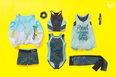 Keep her on-the-go in style with cute & durable girls' sportswear when you shop Justice. From practice to gym class, she'll love our girls' sports clothes. Girls Sports Clothes, Kids Outfits Girls, Girl Outfits, Fashion Outfits, Cheer Outfits, Sporty Outfits, Dance Outfits, Gymnastics Wear, Gymnastics Outfits