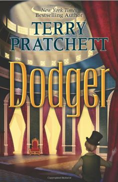 2013 Teen Book Awards: Dodger by Terry Pratchett: In an alternative version of Victorian London, a seventeen-year-old Dodger, a cunning and cheeky street urchin, unexpectedly rises in life when he saves a mysterious girl, meets Charles Dickens, and unintentionally puts a stop to the murders of Sweeny Todd.