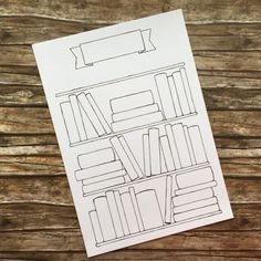 Layout for books to read.