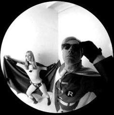Andy Warhol & Nico as Batman & Robin (Esquire, 1967)