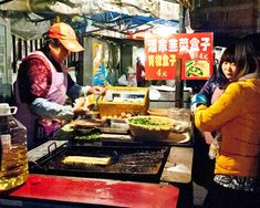 Eating at Shanghai's Street Food Night Market: At Zhangjiang Hi-Tech Park 张江高科站夜市 - http://fiona-reilly.com/2015/02/eating-at-shanghais-street-food-night-market-at-zhangjiang-hi-tech-park-张江高科站夜市/