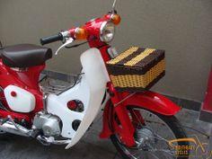 Front basket (2 types) for Honda cub C50 C70, C90 C100 C65 C102 C105 All cubs