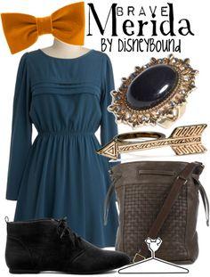 Merida Inspired- by Disneybound