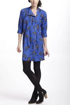 If money didn't matter: Graphic Begonia Shirt Dress - Anthropologie.com