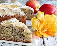 Torta di Grano Saraceno e Mele Apple Cake, Buckwheat, Meatloaf, Nutella, Banana Bread, Cupcake Cakes, Pudding, Desserts, Food