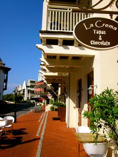 La Creme Cafe: Rosemary Beach