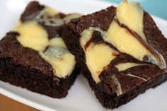 Made cheesecake brownies (or marbled brownies) plenty of times but never tried this recipe. Will do soon for a potluck!