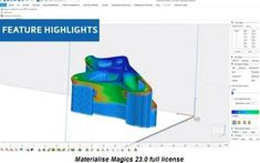 Materialize Magics, the name of software and engineering for printing. Of course, in recent years, I have read articles about printing. The software is looking you for is a powerful tool and a leading provider of STL editing software. Magic Names, Cnc Software, Windows 10 Operating System, Color Depth, True Colors, 3d Printing, Engineering, Articles, Design