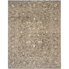Safavieh Hand-knotted Kenya Brown/ Beige Wool Rug (8' x 10') | Overstock™ Shopping - Great Deals on Safavieh 7x9 - 10x14 Rugs