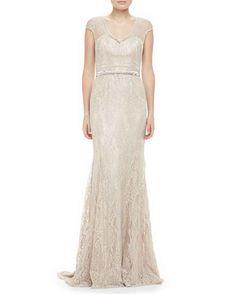 Theia, $1195 at Neiman Marcus | 52 Wedding Dresses That Aren't Strapless