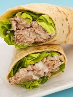 Healthy Wrap Recipes for Lunch  #recipes #lunch