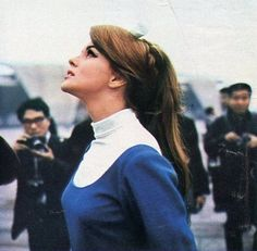 Ann-Margret in Japan, 1965.