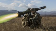 U.S. Marines fire the FGM-148 Javelin Missile during a live-fire range for exercise Platinum Lion at the Novo Selo Training Area Bulgaria Dec. 15 2016 [2958  1664]