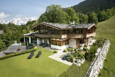 Incredible house - Kitzbühel Alps Pretty sure I've seen this house in person!