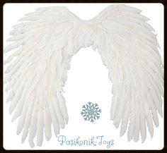 SKRZYDŁA ANIOŁA aniołka na jasełka 69x58 cm