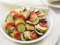Surprising Recipes for the Microwave : Food Network Ratatouille Ratatouille Recipe Food Network, Food Network Recipes, Cooking Network, Microwave Recipes, Cooking Recipes, Microwave Food, Microwave Popcorn, Surprise Recipe, Vegetable Tian