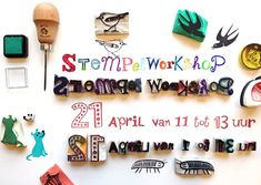 stempelworkshop zaterdag 21 april