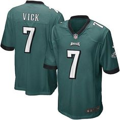 75fa6829c04 ... NFL Philadelphia Eagles, we offer you a large selection of new Youth  Nike Philadelphia Eagles #7 Michael Vick Elite Team Color Green Jersey for  men's, ...