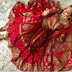 Looking for Bridal Lehenga for your wedding ? Dulhaniyaa curated the list of Best Bridal Wear Store with variety of Bridal Lehenga with their prices Indian Bridal Outfits, Indian Bridal Fashion, Indian Bridal Wear, Indian Wear, Bride Indian, Indian Weddings, Indian Dresses, Real Weddings, Lehenga Wedding