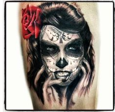 My day of the dead girl tattoo