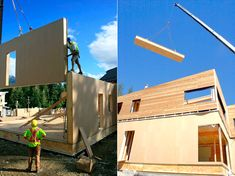 Construção de casas pré-fabricadas de madeira - http://www.casaprefabricada.org/construcao-de-casas-pre-fabricadas-de-madeira