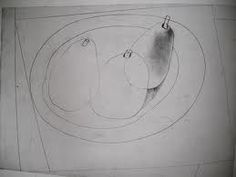 Three Pears by Ben Nicholson Line Drawing, Painting & Drawing, Concrete Art, Paintings I Love, Drawing Lessons, Sculpture, Visual Communication, Still Life Photography, Art Plastique