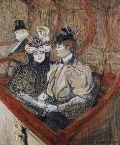 La Grande Loge - Henri de Toulouse Lautrec
