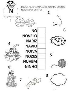 Atenção: Estas atividades pertencem a http://danizinhaeduca.blogspot.com.br/. ...