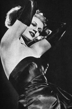 Rita Hayworth in Gilda, 1946.