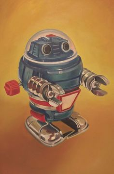Vintage Toy Robot #5 --had several of these wind up devils back in the day. Loved them.