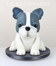 Beau The French Bulldog - cake by Laura Loukaides