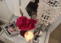 VIDEO: DIY Bead Chandelier Lamp