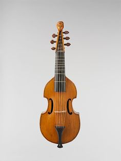 1730 French Treble viol (The Metropolitan Museum of Art, New York)