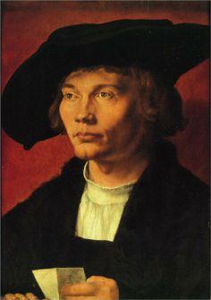 Portrait of Bernhard von Reesen, 1521  Albrecht Durer