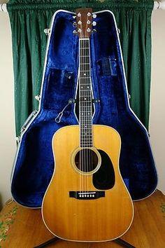 Early 1970 Martin (Brazilian Rosewood) w/ Blue Martin Case! Martin Guitars, Unique Guitars, Guitar Collection, Guitar For Beginners, Beautiful Guitars, Guitar Design, Acoustic Guitars, Music Instruments, Music Rooms