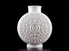 ALBOTH & KAISER Vintage Retro 60s German Porcelain Op Pop Art Psychedelic Vase | eBay Vintage Vases, Retro Vintage, White Vases, Pottery Art, Psychedelic, Pop Art, German, Ebay, Deutsch