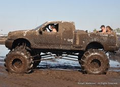 Just a little mud...